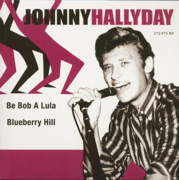 Johnny Hallyday (7inch, EP, 45rpm, PS, SC, Purple Vinyl, Ltd.)