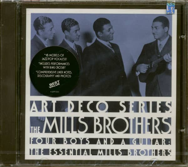 Essential Mills Brothers - Four Boys & A Guitar (CD)