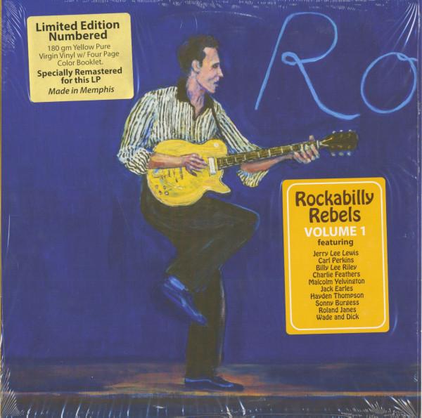 Rockabilly Rebels Vol.1 (LP, 180g Vinyl. Ltd.)