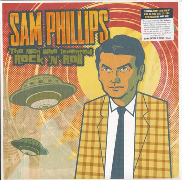 Sam Phillips - The Man Who Invented Rock'n'Roll (3-LP)
