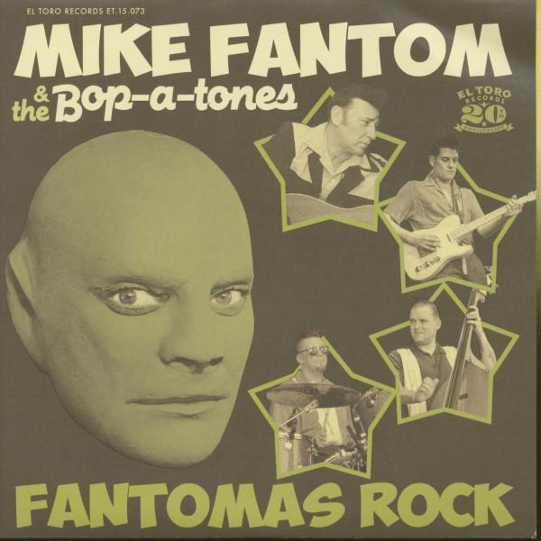 Fantomas Rock (45rpm, 7inch, EP, PS)