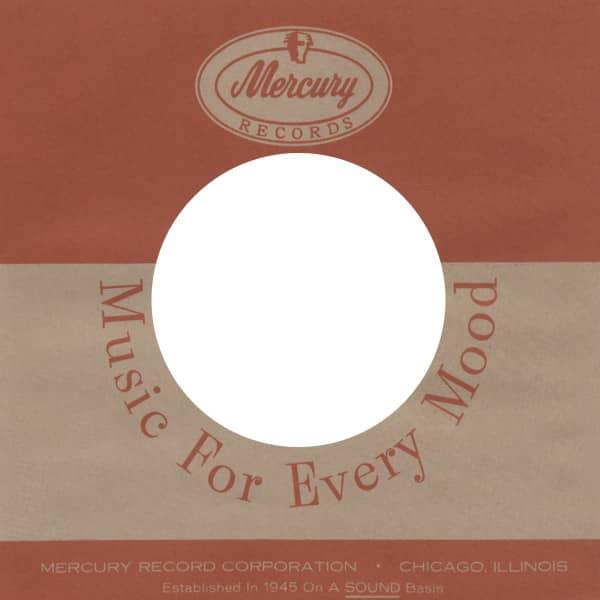 (10) Mercury 2, USA - 45rpm record sleeve - 7inch Single Cover