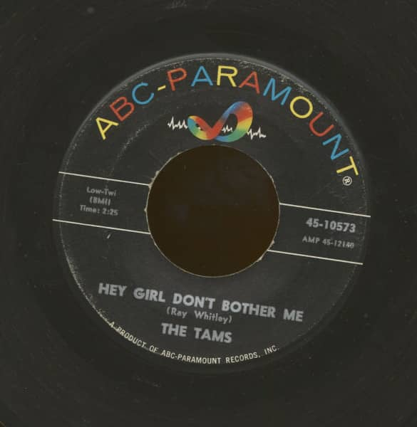 Hey Girl Don't Bother Me - Take Away (7inch, 45rpm)