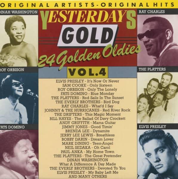 24 Golden Oldies Vol.4 (LP)