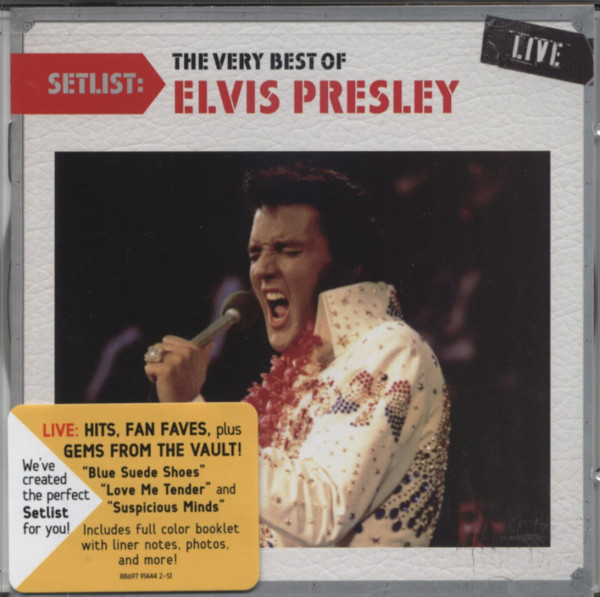 Setlist: Very Best Of Elvis 70s Live
