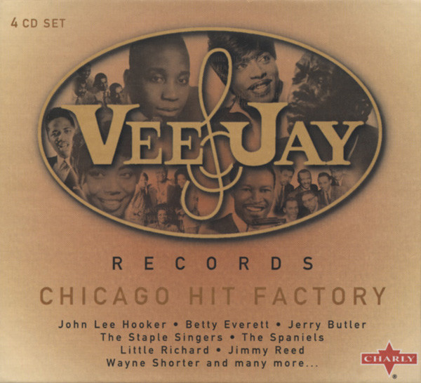 Vee Jay Records - Chicago Hit Factory 4-CD