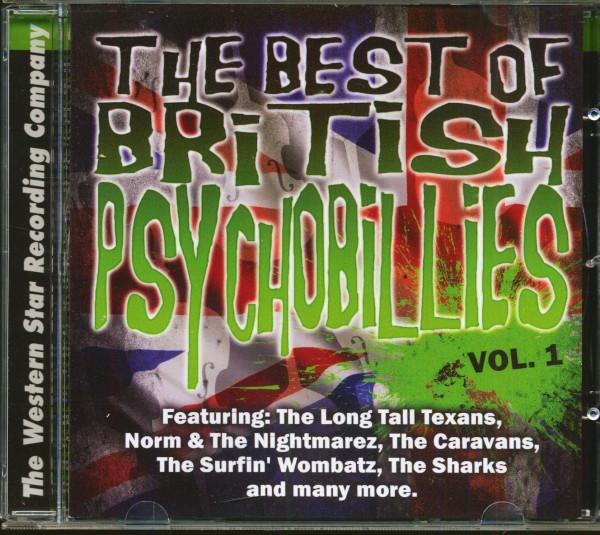 The Best Of British Psychobilly Vol.1 (CD)