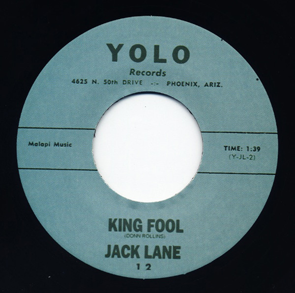 King Fool - Rain On The Mountain 7inch, 45rpm