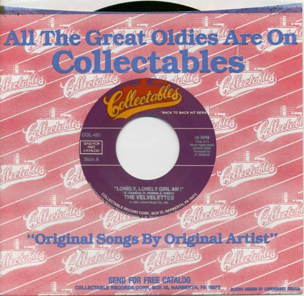 Lonely, Lonely Girl Am I - A Bird In The Hand... (7inch, 45rpm, BC, CS)