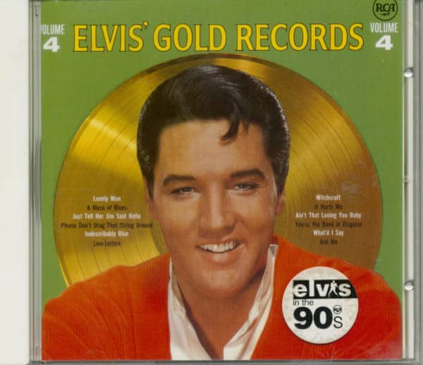 Elvis' Gold Records Volume 4 (CD)