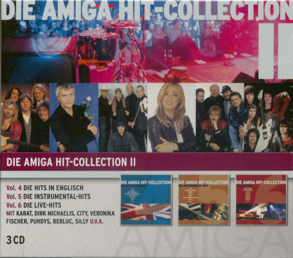 Vol.2, Amiga Hit Collection (3-CD) #4-6