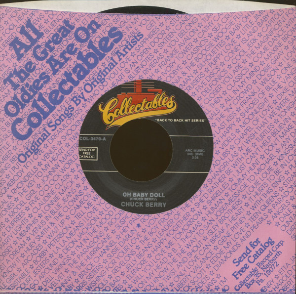 Oh, Baby Doll - Wee Wee Hours (7inch, 45rpm)