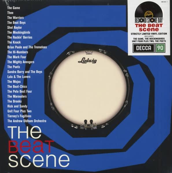 The Beat Scene - Decca Originals (2-LP, Ltd.)