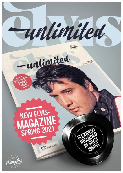 Elvis Unlimited Magazine - Issue#1 March 2021