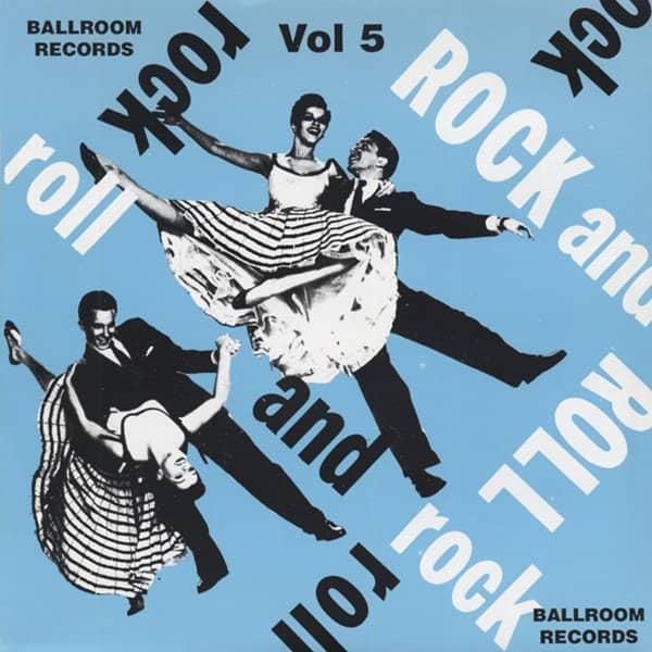Vol.5, Ballroom Rock & Roll 7inch, 45rpm, EP, PS