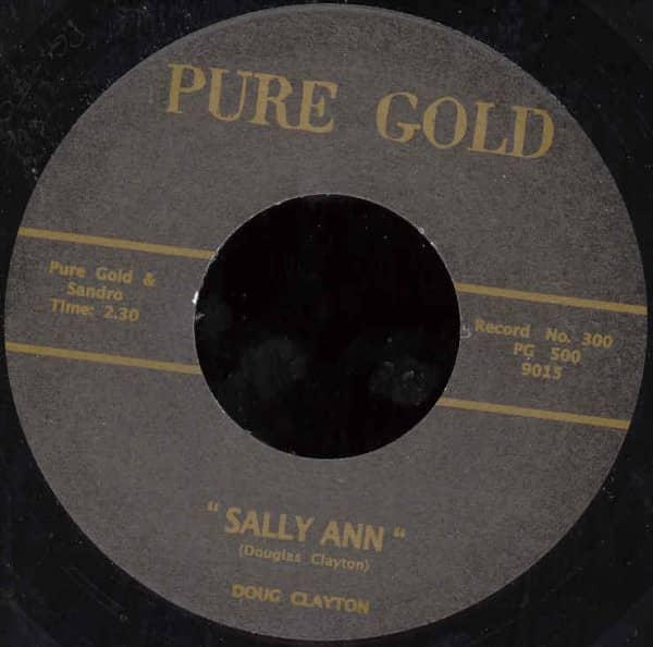 Sally Ann - Saturday Night Twist 7inch, 45rpm
