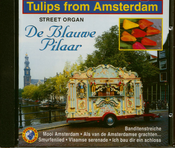 Tulips From Amsterdam - Street Organ (CD)
