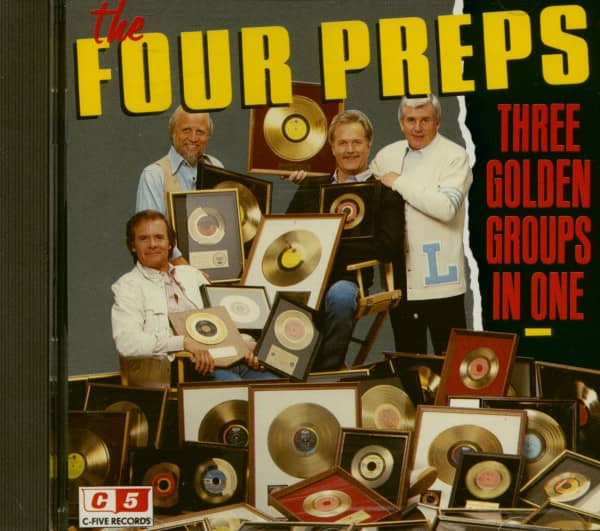 Three Golden Groups In One (CD Album)