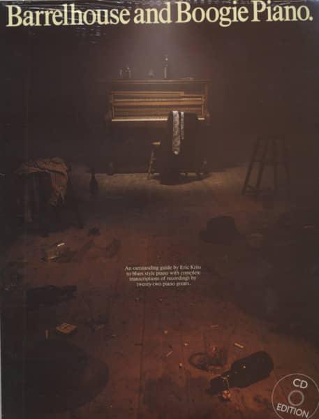 Barrelhouse And Boogie Piano (BUCH+CD)