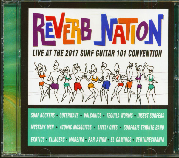 Reverb Nation - Live At The 2017 Surf Guitar 101 Convention (CD)