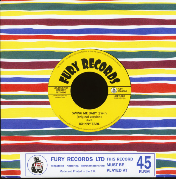 Swing Me Baby (7inch, 45rpm)