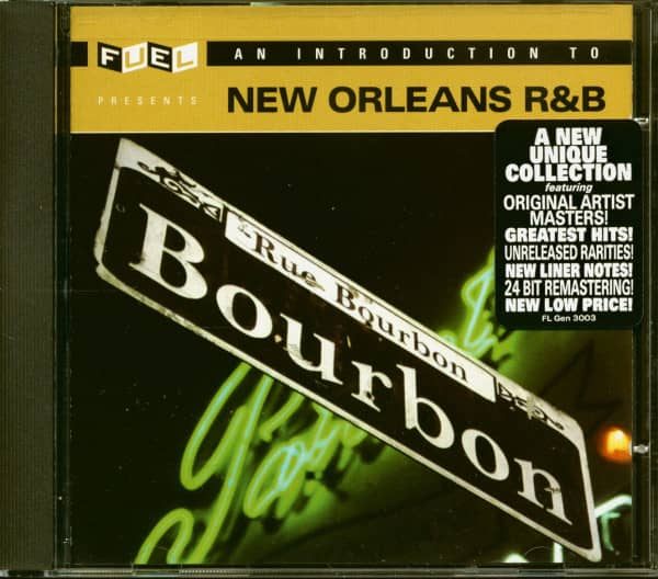 An Introduction To New Orleans R&B (CD)