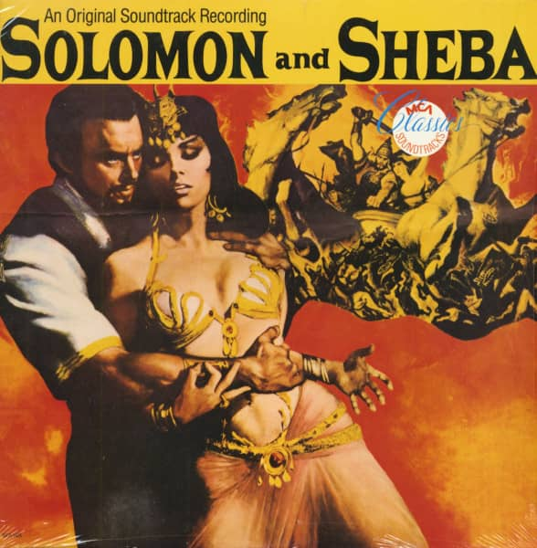Solomon And Sheba - Soundtrack (LP)