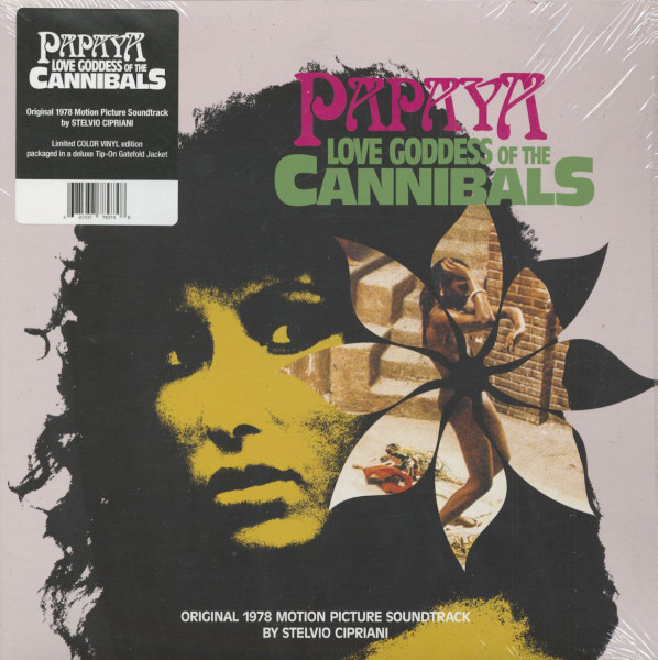 Papaya - Love Goddess Of The Cannibals - Soundtrack (LP, 180g Vinyl, Ltd.)