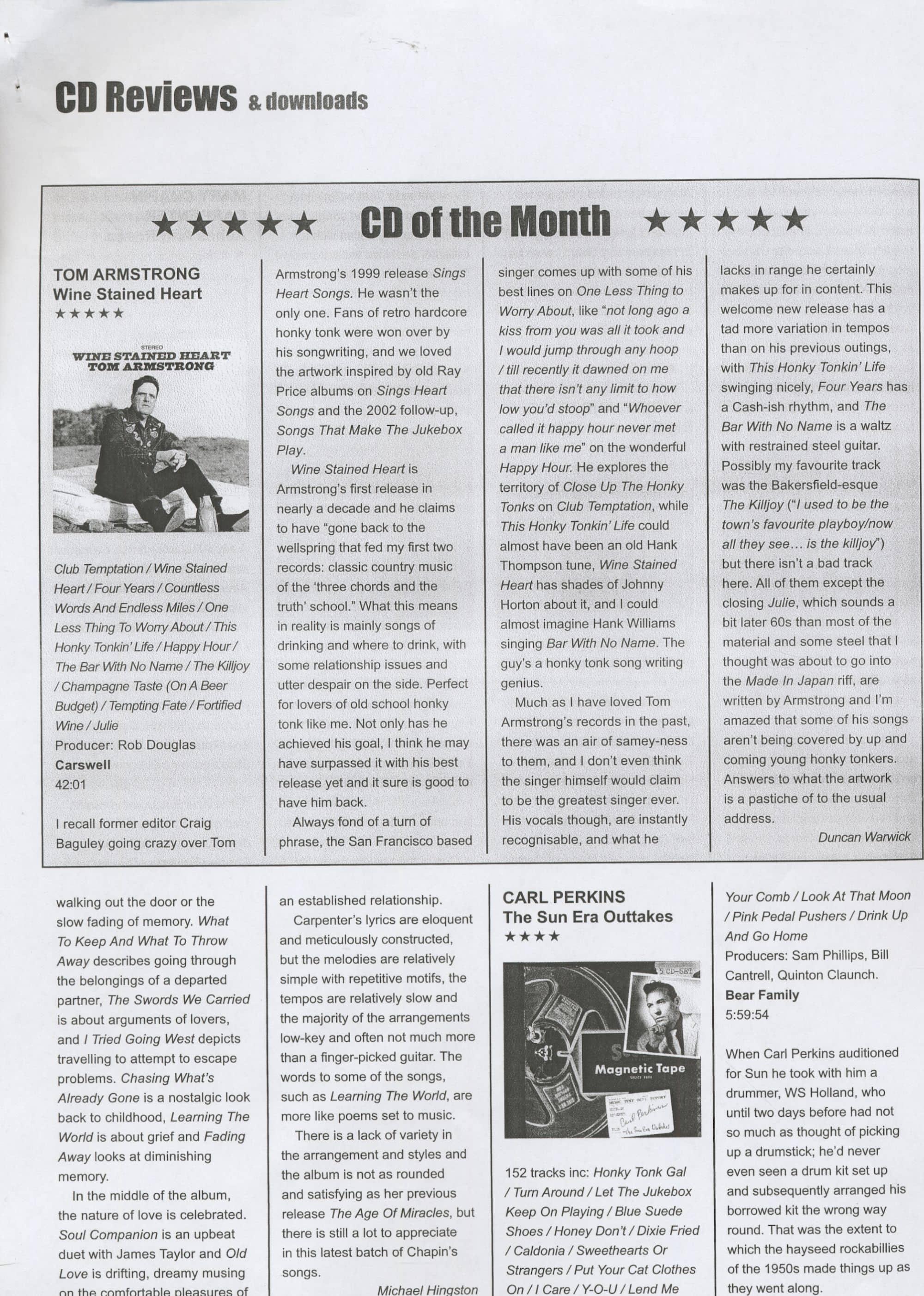 Press Archive - Carl Perkins -Press Archive - Carl Perkins - The Sun
