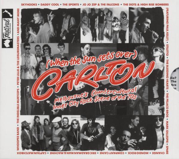 (When The Sun Sets Over) Carlton - Melbourne's Countercultural Inner City Rock Scene Of The 70s (2-CD)