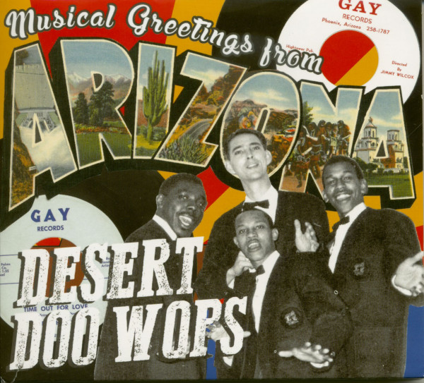 Desert Doo Wops - Musical Greetings From Arizona 1956-1968 (CD)