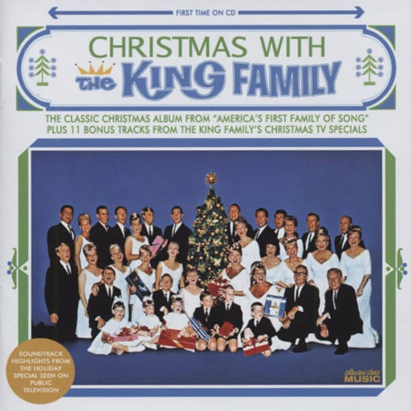 King Family Cd Christmas With The King Family Plus Bear Family