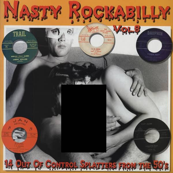 Nasty Rockabilly Vol.8 (Vinyl LP)