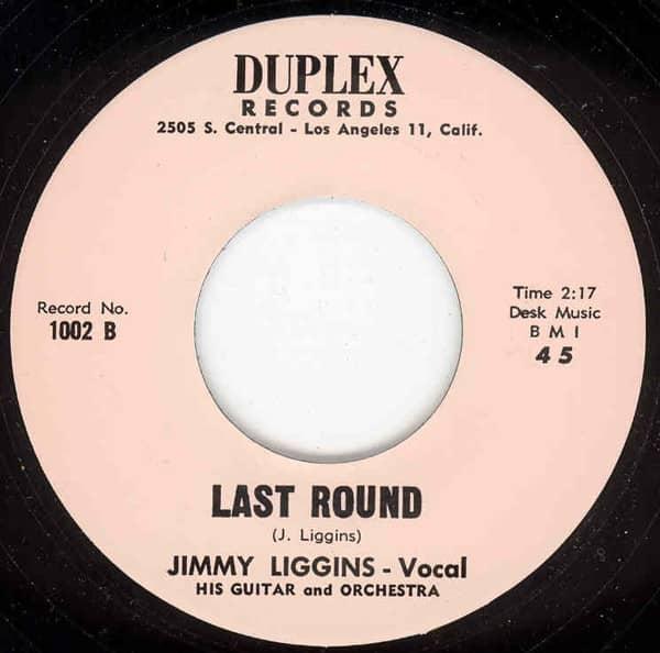 Last Round b-w Hideout 7inch, 45rpm