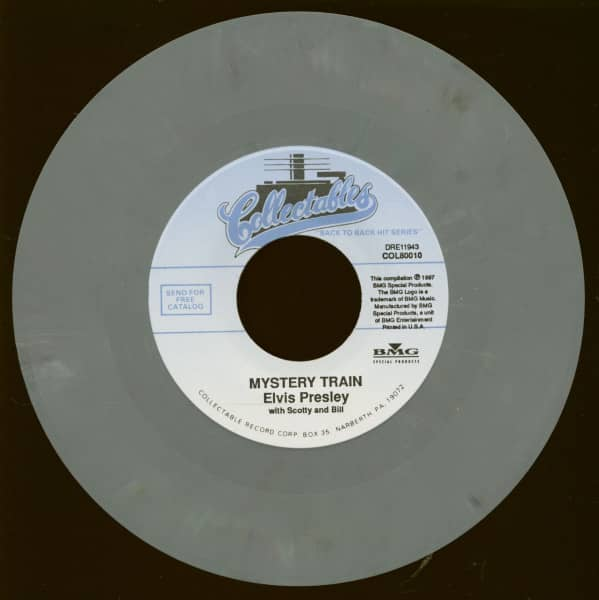 Mystery Train - I Forgot To Remember To Forget (7inch, 45rpm)