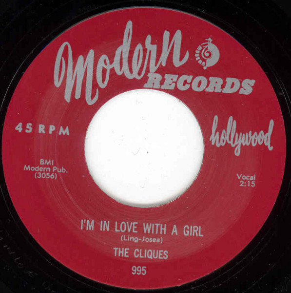 I'm In Love With A Girl - My Desire 7inch, 45rpm