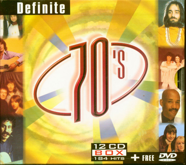 Definite 70s (12-CD & DVD)