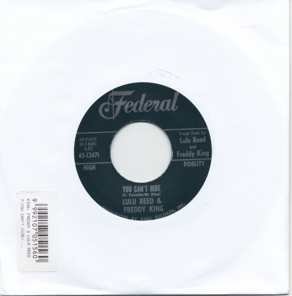 You Can't Hide b-w (Let Your Love) Watch Over Me 7inch, 45rpm