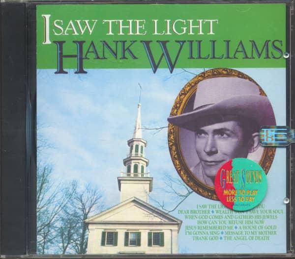 I Saw The Light (CD)