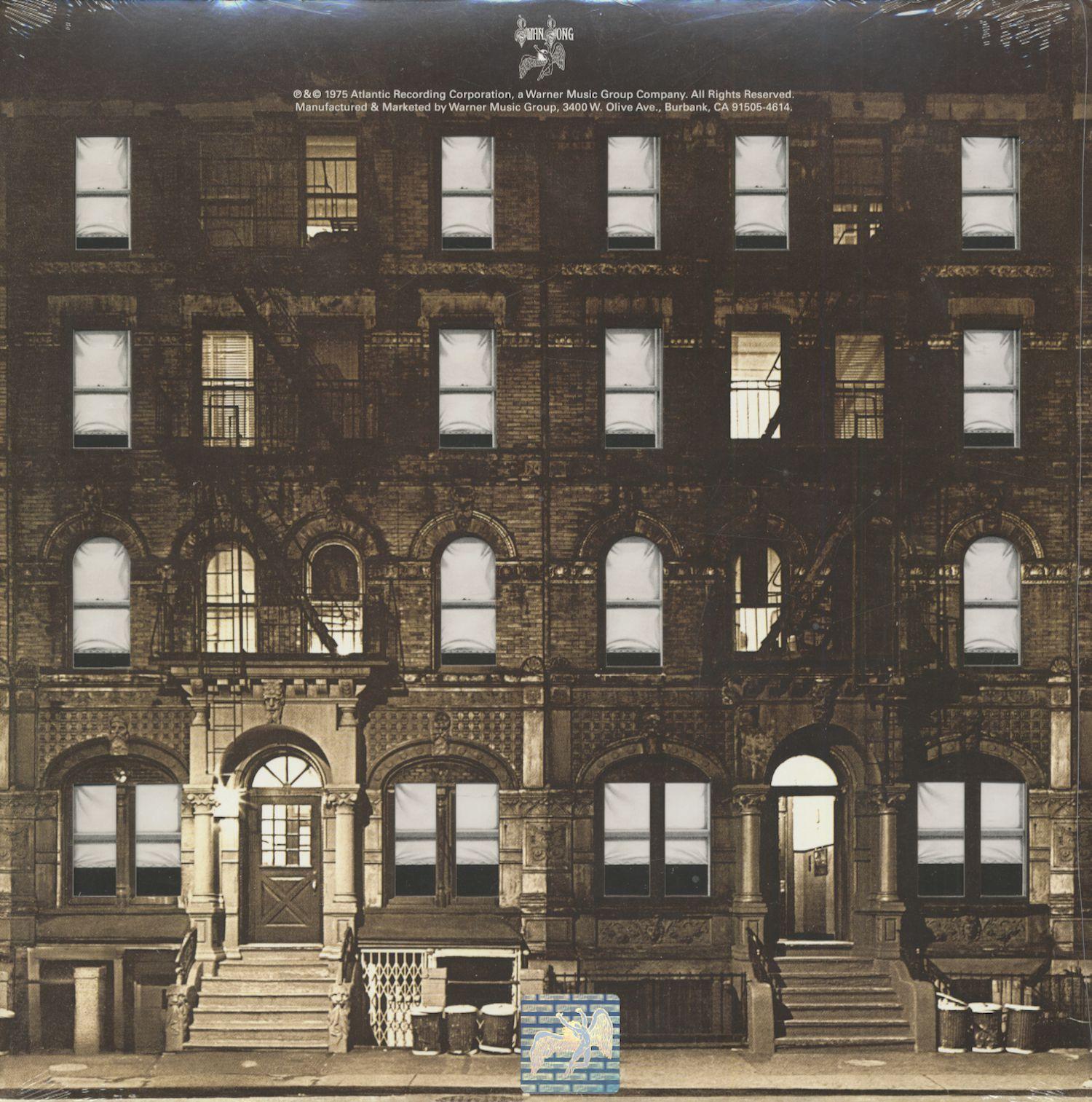 Led Zeppelin Lp Physical Graffiti 2 Lp 180g Vinyl