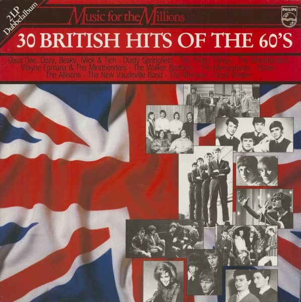 30 British Hits Of The 60's (2-LP)