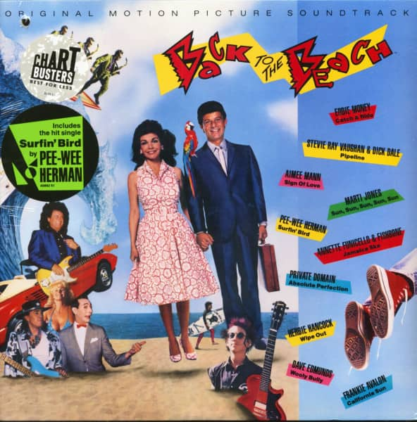 Back To The Beach - Original Motion Picture Soundtrack (LP, US Cut-Out)