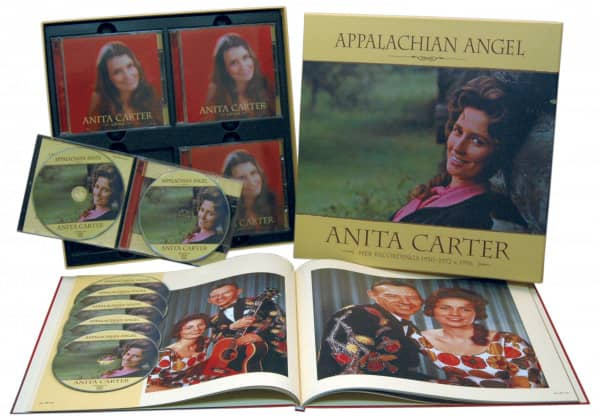 Anita Carter Appalachian Angel 1950 72 1996 7cd