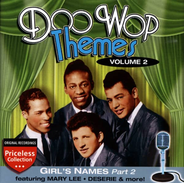 Vol.2, Girl's Names - Doo Wop Themes Vol.2
