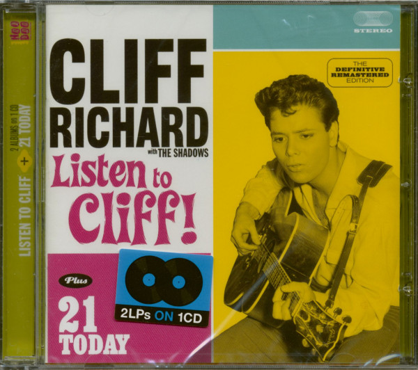Listen To Cliff! - 21 Today (CD)