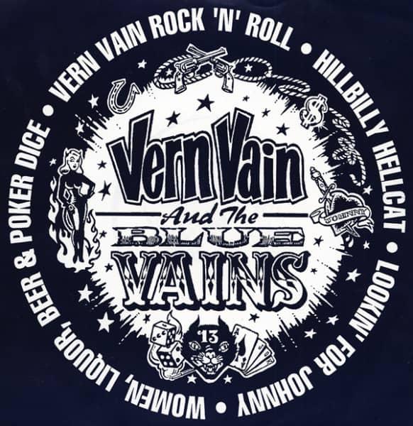 Vern Vain & The Blue Vains 7inch, 45rpm, EP