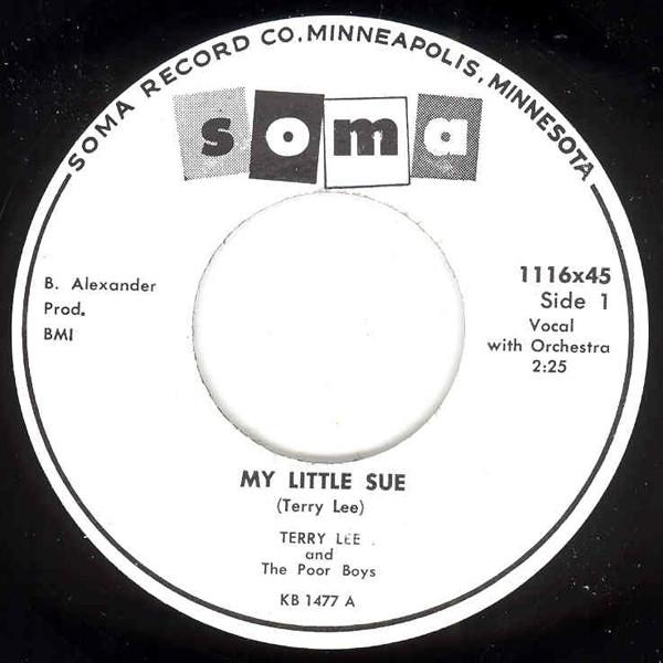 My Little Sue - Driftin' 7inch, 45rpm