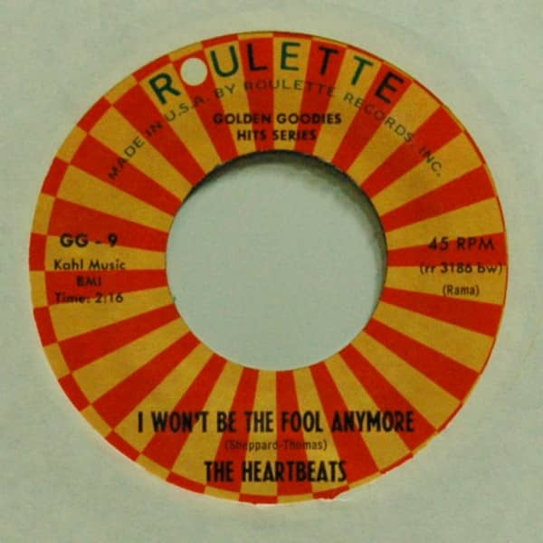 I Won't Be The Fool Anymore b-w Everybody Is Somebody's Fool 7inch, 45rpm