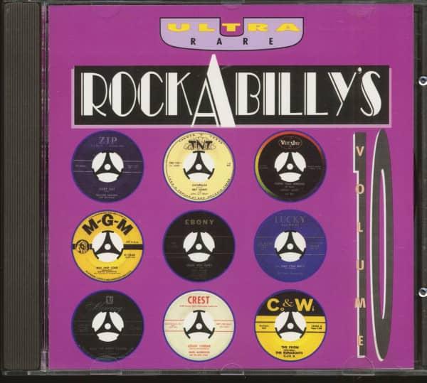 Ultra Rare Rockabilly's Vol.10 (CD)