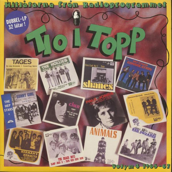 Tio I Topp Vol.4 - 1965-67 (2-LP)